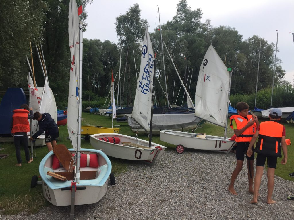 Opti Trainingsvorbereitung